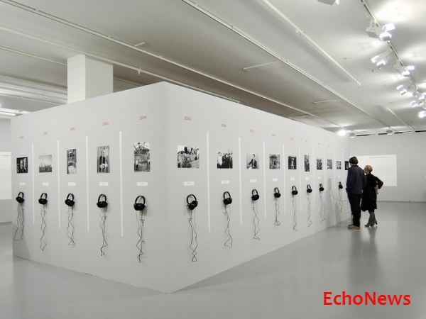 ЭКСКЛЮЗИВ ECHONEWS: Звуковая инсталляция из архива «Эхо Москвы»